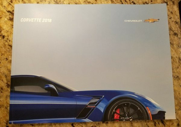 2018 Corvette Sales Brochure