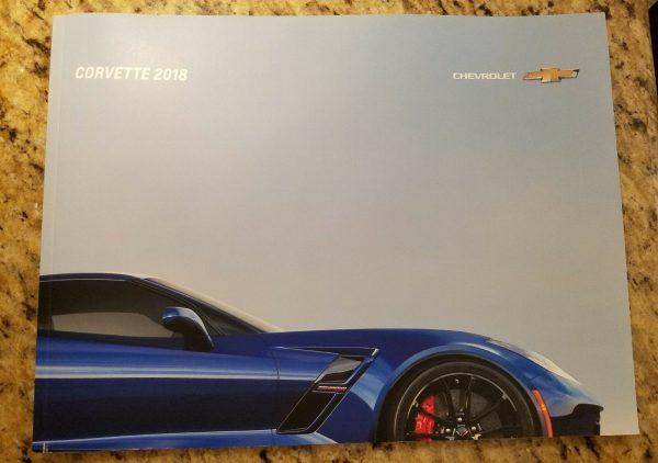 2018 Corvette Sales Brochure