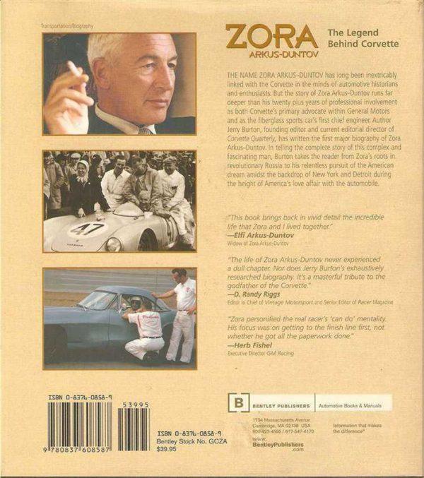 Zora Arkus-Duntov - The Legend Behind Corvette