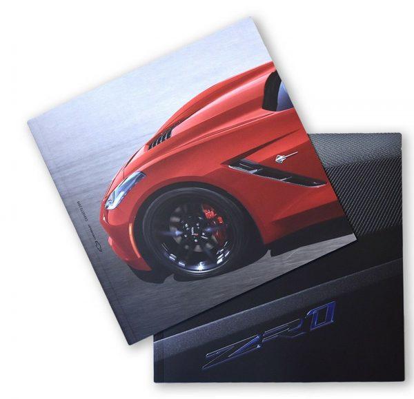 2019 Corvette Sales Brochure Set