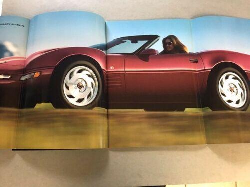 1993 Corvette Sales Brochure