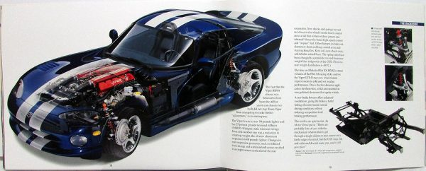 1996 Dodge Viper GTS Sales Brochure