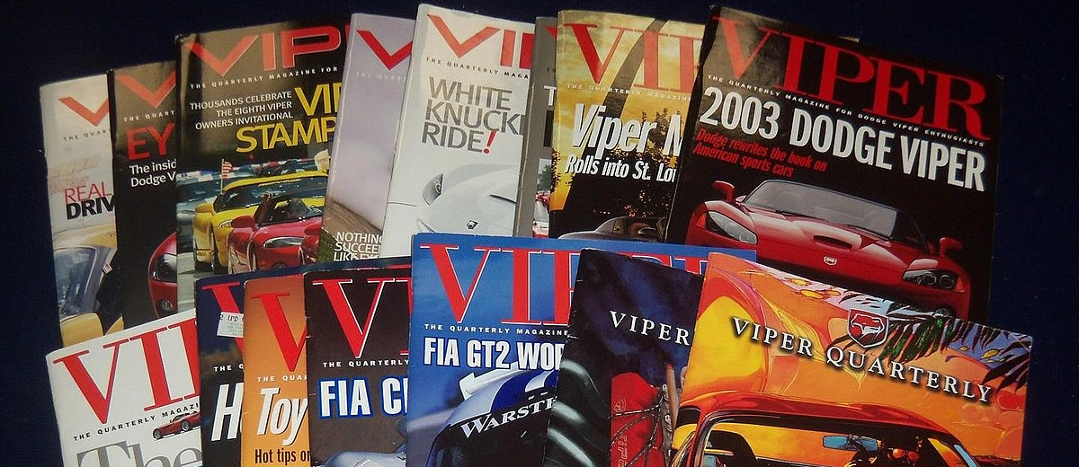Viper Quarterly Magazines