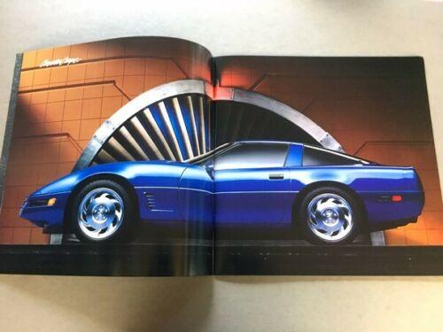 1995 Corvette Dealer Sales Brochure