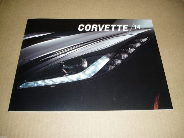 2014 Corvette Sales Brochure