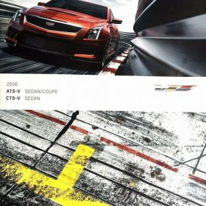2016 Cadillac V-Series Sales Brochure