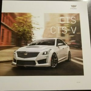 2019 Cadillac CTS and CTS-V Sales Brochure